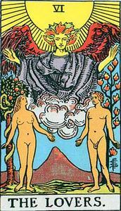 Tarot Love Card